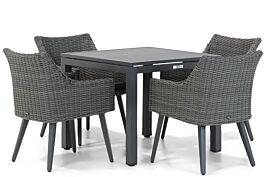 Garden Collections Milton/Concept 90 cm dining tuinset 5-delig