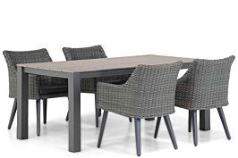 Garden Collections Milton/Valley 180 cm dining tuinset 5-delig