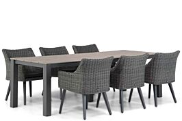 Garden Collections Milton/Valley 240 cm dining tuinset 7-delig