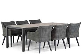 Garden Collections Milton/Young 217 cm dining tuinset 7-delig