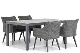 Garden Collections Milton/Residence 164 cm dining tuinset 5-delig