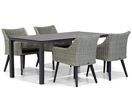 Garden Collections Milton/Pallazo 180 cm dining tuinset 5-delig
