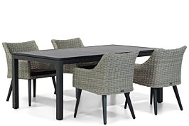 Garden Collections Milton/Concept 180 cm dining tuinset 5-delig