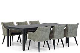Garden Collections Milton/Concept 220 cm dining tuintafel 7-delig