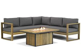 Lifestyle Marriott/Seaside 120 cm hoek loungeset 4-delig