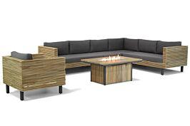 Lifestyle New York/Seaside 120cm loungeset met stoel 6-delig