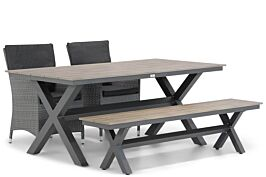 Garden Collections Orlando/Forest 180 cm dining tuinset 4-delig