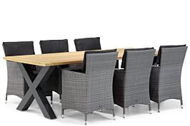 Garden Collections Orlando/Cardiff 240 cm dining tuinset 7-delig
