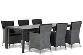 Garden Collections Orlando/Lido 240 cm dining tuinset 5-delig