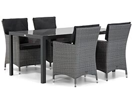 Garden Collections Orlando/Mondello 160 cm dining tuinset 5-delig