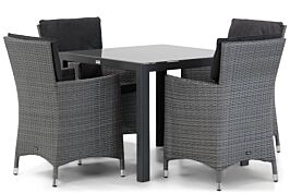 Garden Collections Orlando/Mondello 90 cm dining tuinset 5-delig