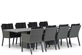 Garden Collections Oxbow/Graniet 300 cm dining tuinset 9-delig