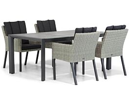 Garden Collections Oxbow/Lido 180 cm dining tuinset 5-delig