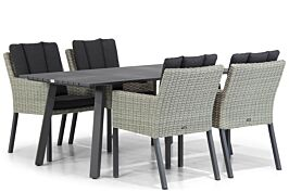 Garden Collections Oxbow/Villagio 170 cm dining tuinset 5-delig