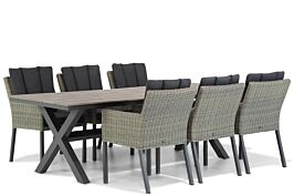 Garden Collections Oxbow/Forest 240 cm dining tuinset 7-delig