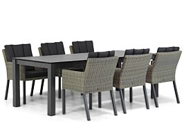 Garden Collections Oxbow/Yukon 240 cm dining tuinset 7-delig