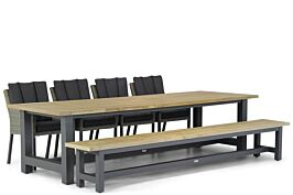 Garden Collections Oxbow/San Francisco 300 cm picknick tuinset 6-delig
