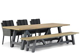 Garden Collections Oxbow/Trente 260 cm dining tuinset 5-delig