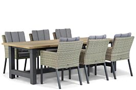 Garden Collections Oxbow/San Francisco 260 cm dining tuinset 7-delig