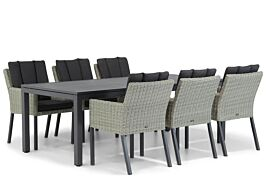 Garden Collections Oxbow/Concept 220 cm dining tuinset 7-delig