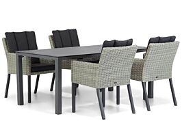 Garden Collections Oxbow/Pallazo 180 cm dining tuinset 5-delig