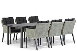 Garden Collections Oxbow/Pallazo 220 cm dining tuinset 7-delig