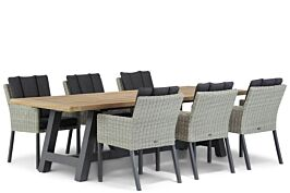 Garden Collections Oxbow/Trente 260 cm dining tuinset 7-delig
