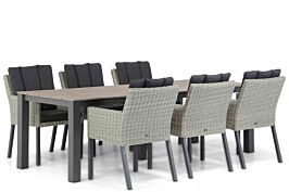 Garden Collections Oxbow/Valley 240 cm dining tuinset 7-delig