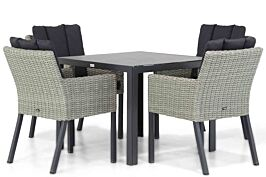 Garden Collections Oxbow/Varano 90 cm dining tuinset 5-delig