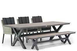 Garden Collections Oxbow/Forest 240 cm dining tuinset 5-delig