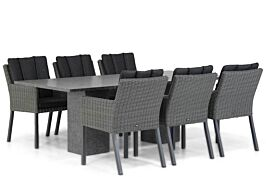 Garden Collections Oxbow/Graniet 220 cm dining tuinset 7-delig