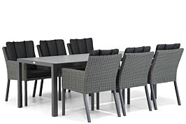 Garden Collections Oxbow/Varano 210 cm dining tuinset 7-delig