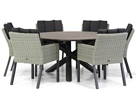 Garden Collections Oxbow/Ancona 150 cm dining tuinset 7-delig