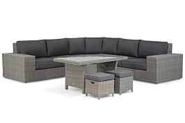 Garden Collections Oxford/New Castle hoek loungeset 6-delig