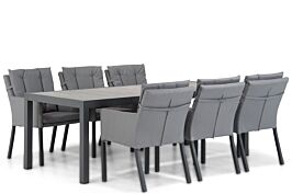 Lifestyle Parma/Residence 220 cm dining tuinset 7-delig