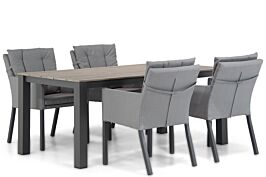 Lifestyle Parma/Valley 180 cm dining tuinset 5-delig
