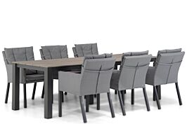 Lifestyle Parma/Valley 240 cm dining tuinset 7-delig