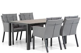 Lifestyle Parma/Young 155 cm dining tuinset 5-delig