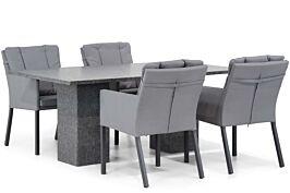 Lifestyle Parma/Graniet 180 cm dining tuinset 5-delig