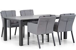 Lifestyle Parma/Munster 180 cm dining tuinset 5-delig