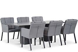Lifestyle Parma/Graniet 220 cm dining tuinset 7-delig