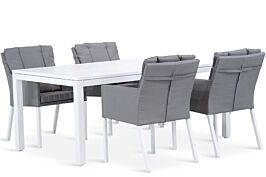 Lifestyle Parma/Concept 180 cm dining tuinset 5-delig