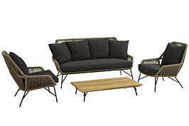 4 Seasons Outdoor Ramblas/Cucina stoel-bank loungeset 4-delig