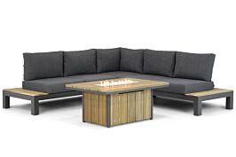 Lifestyle Ravalla/Seaside 120 cm hoek loungeset 4-delig
