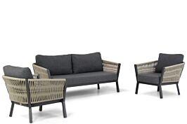 Lifestyle Rimini stoel-bank loungeset 3-delig