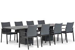 Lifestyle Rome/Graniet 300 cm dining tuinset 9-delig