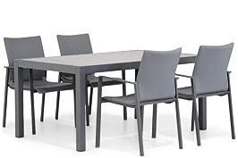 Lifestyle Rome/Residence 164 cm dining tuinset 5-delig