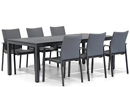 Lifestyle Rome/Concept 220 cm dining tuinset 7-delig