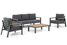 Domani Roseto stoel-bank loungeset 4-delig