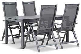 Hartman Royal Club/Concept 180 cm dining tuinset 5-delig